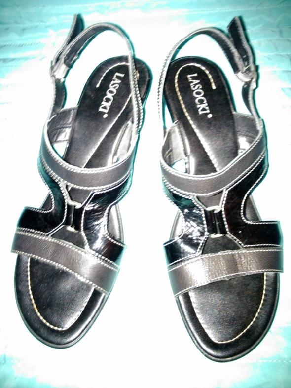 Sandały Sandałki 40 SKÓRA Lasocki