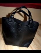 sinsay shopper bag czarna nowa