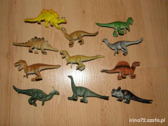 Zabawki ZESTAW DINOZAURÓW 2