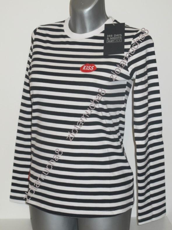 PLNY LALA bluzka Petite Kiss Stripes French Fit