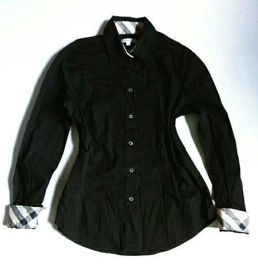 Koszule Burberry 38 czarna koszula
