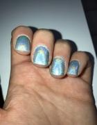 naturalne cholograficzne paznokcie polish nails...