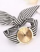 Materiałowy Zegarek Damski