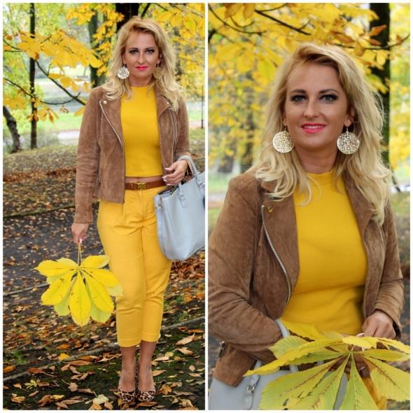 Blogerek Yellow total look