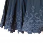 George czarna rozkloszowana spódnica 42