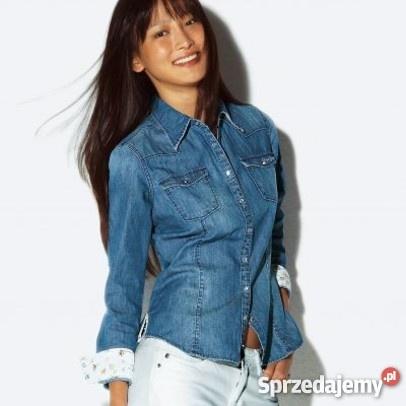 Ubrania koszula jeans