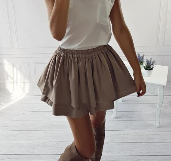 mini spódnica rozkloszowana falbany NOWA w Spódnice Szafa.pl