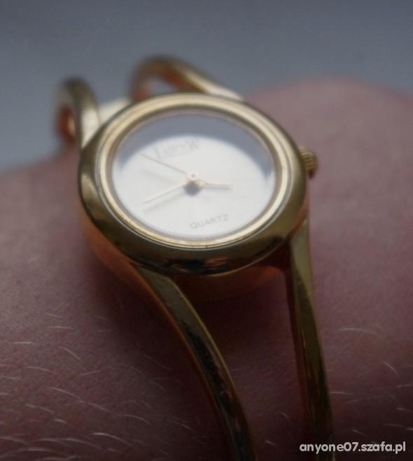 Zegarki Pozłacany zegarek QUARTZ