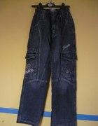 Spodnie Jeansy dla Chłopaka Nastolatka...