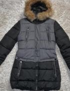 kurtka zimowa taliowana 36
