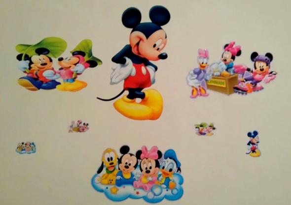 Naklejki ścienne na ścianę Myszka Mickey
