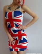 sukienka nowa marki Atmosphere we flagi UK 36