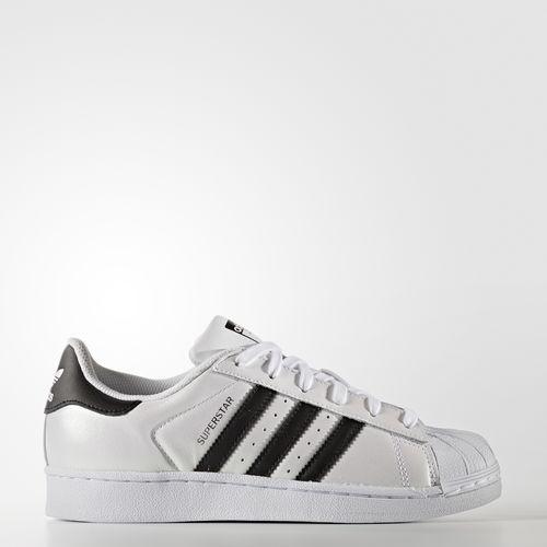 Obuwie Białe adidas superstar
