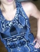 Sukienka Adidas snakeprint rozmiar S...