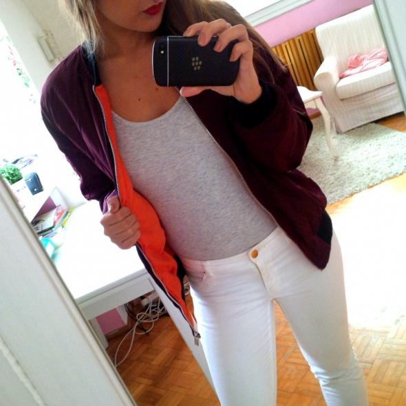 Mój styl bomber jacket