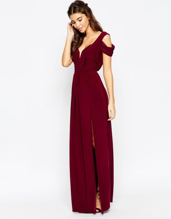 Asos długa suknia balowa...
