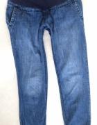 Spodnie ciążowe H&M alladynki dżinsy XS S