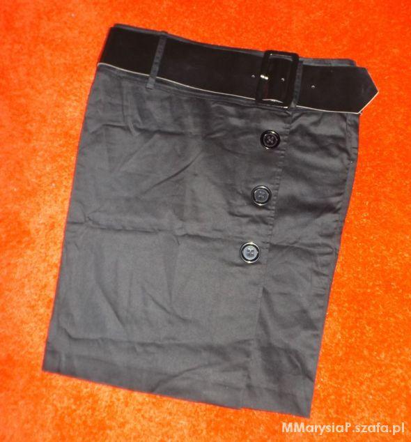 Spódnice Elegancka spódnica z paskiem M