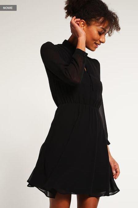 Ubrania New Look Sukienka letnia black czarna 36