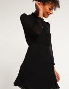 New Look Sukienka letnia black czarna 36...