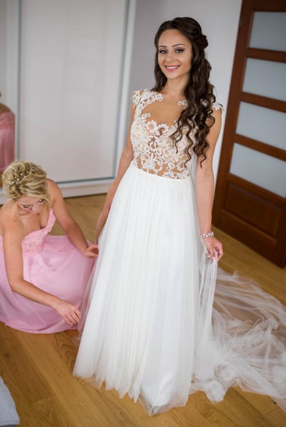 Na specjalne okazje Suknia ślubna Madonna Telimena 2016