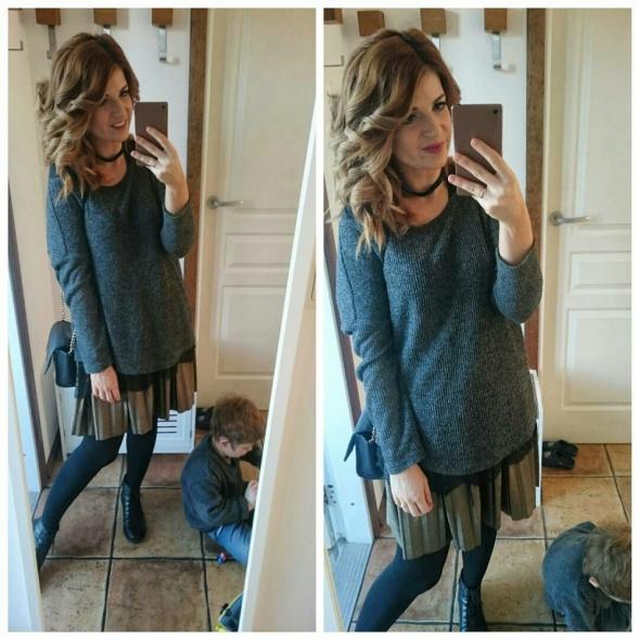 Mój styl plisowana spódnica
