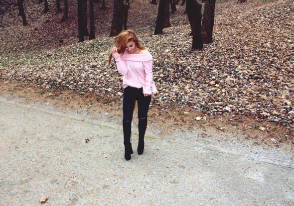 Blogerek sweter oversize