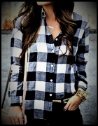 Flanelowa koszula H&M...