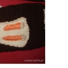 Rękawiczki handmade kotek