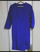 Kobaltowa Sukienka Nife