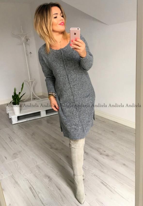 Sukienka SOFIA idealna na zimę