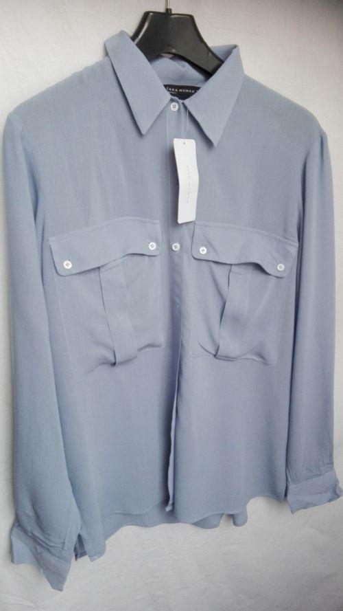 Koszula niebieska Zara M