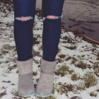 szare śniegowce