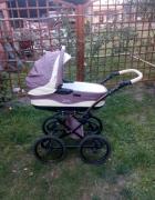 Wózek 2w1 TAKO BALLILA brązowo kremowy