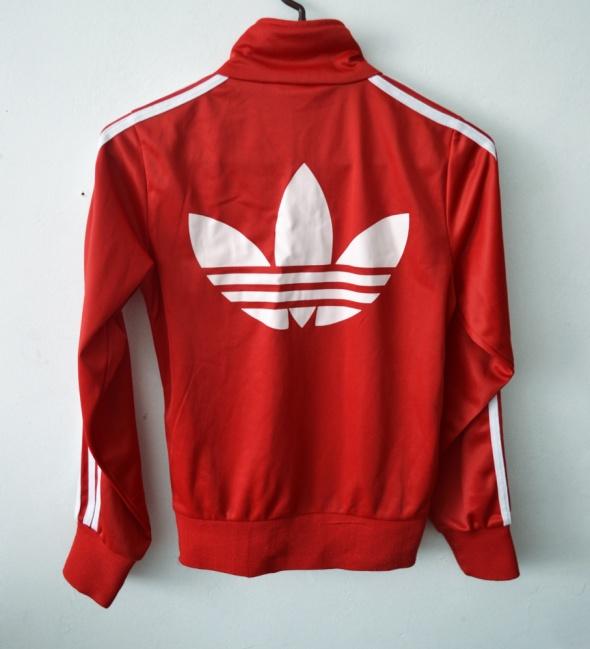 bluza adidas firebird czerwona