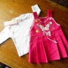 Nowy Komplet 74 na 9 m sukienka i bluzka