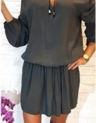 Sukienka khaki hoker