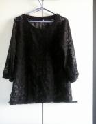 NOWA czarna koronkowa bluzka plus size rozmiar 44...