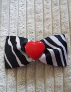 spinka kokardka glovestar zebra...
