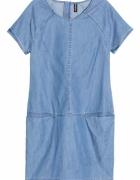 Sukienka H&M dżinsowa