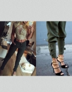 Top i spodnie muszkieterki