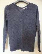 Sweter granatowy Mango 38 M