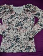 sweterek orsay kwiaty M