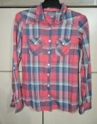 Koszula w kratę 34 XS
