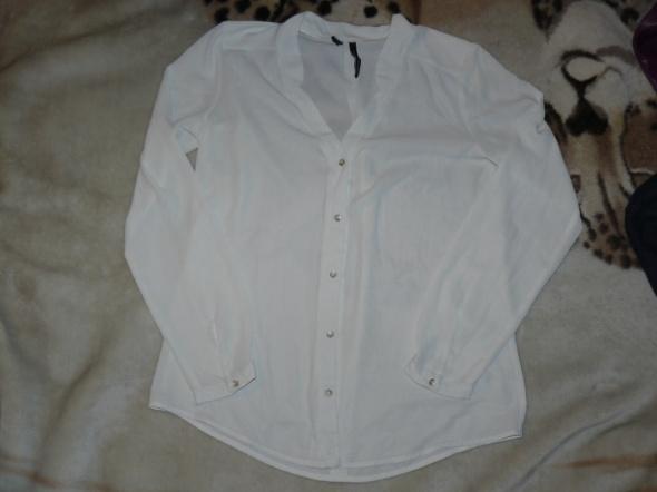 Biała bluzka Mango S M