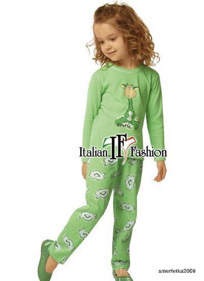 Piżamka dziewczęca bawelniana 10 lat