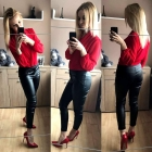 RED CHLOE