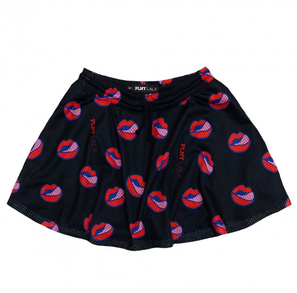 Spódnice PLNY LALA spódnica Lips Wavy Skirt