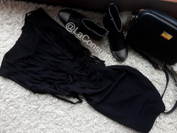 CUDO sukienka FREDZLE xs s CZARNA
