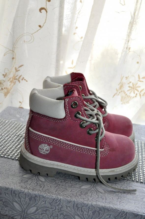 buty timberland różowe